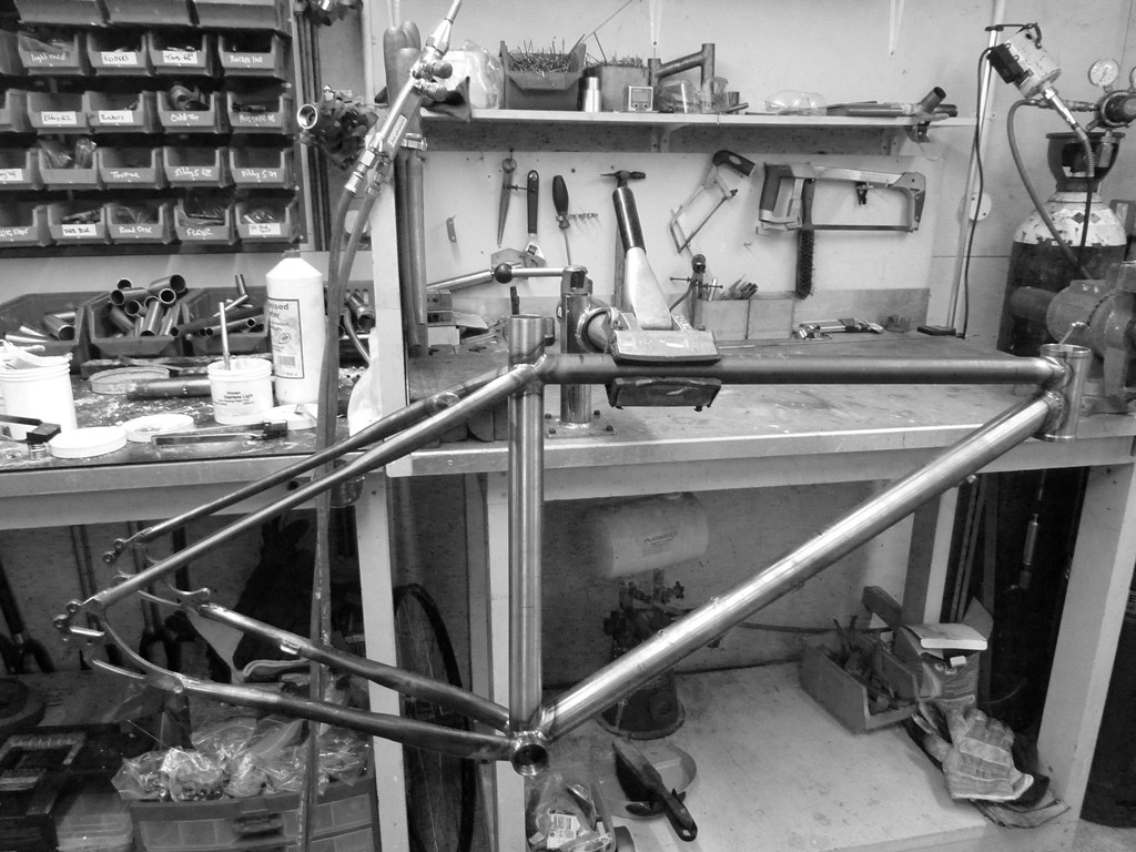 Fabrication Cadre MTB BAUDOU Bike