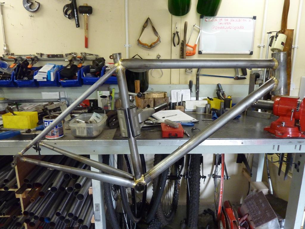 Fabrication cadre vélo de course BAUDOU Bikes