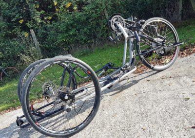 Le handbike de Bernard