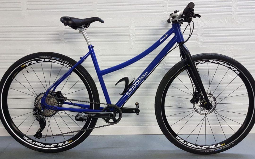 Le vélo polyvalent d'Hélène