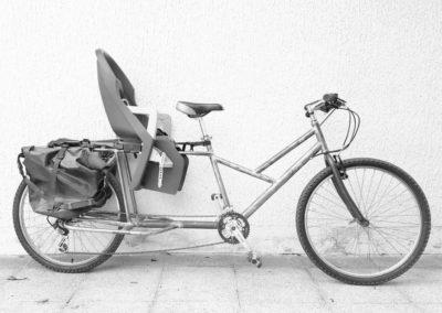 Vélo cargo «longtail»